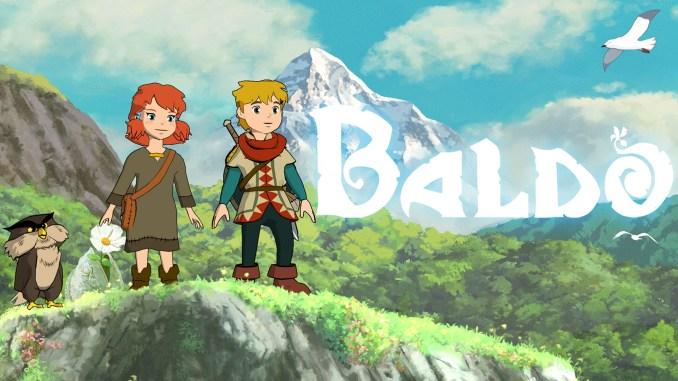 Das Bild zeigt das Titelbild des Spiels Baldo: The Guardian Owls
