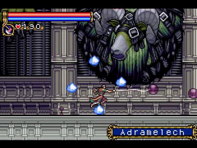 Das Bild zeigt einen Ingame Screen von Circle of the Moon
