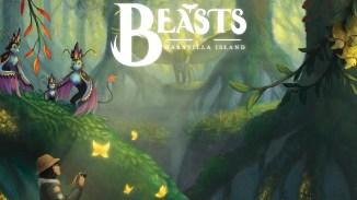 """Das Bild zeigt das Logo von """"Beasts of Maravilla Island""""."""
