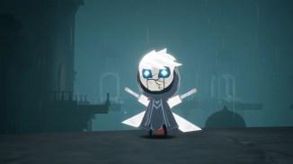 """Das Bild zeigt den Protagonisten des Spieles """"Blue Fire""""."""
