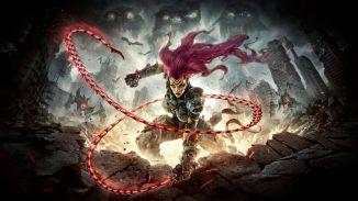 Das Bild zeigt die Protagonistin Fury aus Darksiders III