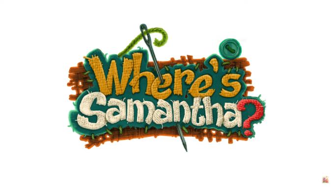 """Das Bild zeigt das Logo von """"Where's Samantha?""""."""