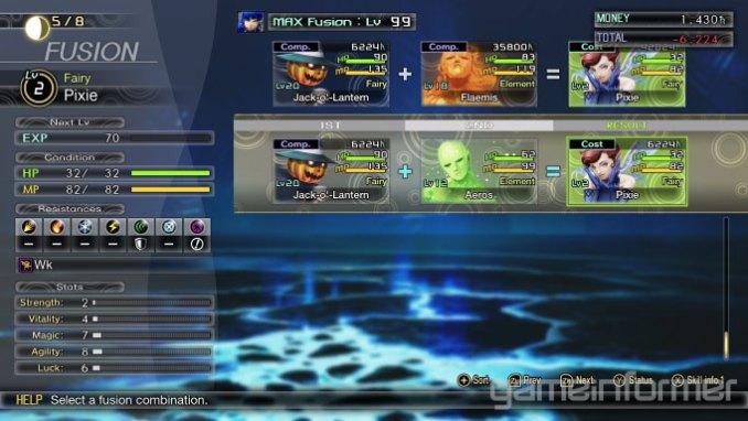 """Das Bild zeigt eine Szene aus dem Spiel """"Shin Megami Tensei V""""."""