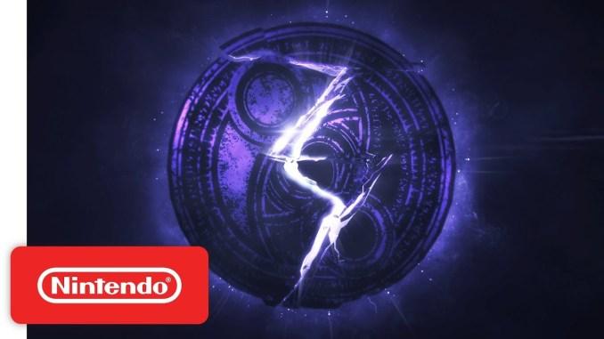 """Das Bild zeigt das Logo von """"Bayonetta 3""""."""