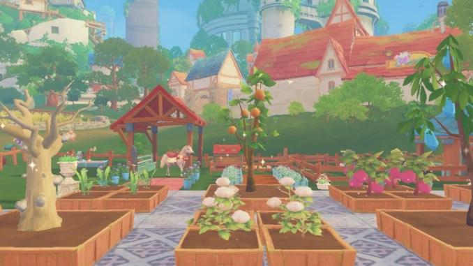 """Das Bild zeigt eine Szene aus dem Spiel """"My Time at Portia""""."""