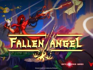 """Das Bild zeigt das Logo von """"Fallen Angel""""."""