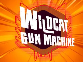 """Das Bild zeigt das Logo von """"Wildcat Gun Machine""""."""