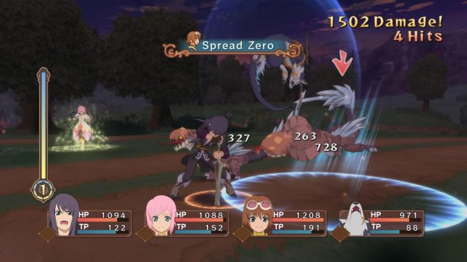 """Das Bild zeigt eine Szene aus dem Spiel """"Tales of Vesperia: Definitive Edition""""."""