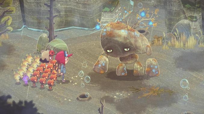 """Das Bild zeigt die Protagonisten und ein mystisches Wesen in """"The Wild at Heart""""."""