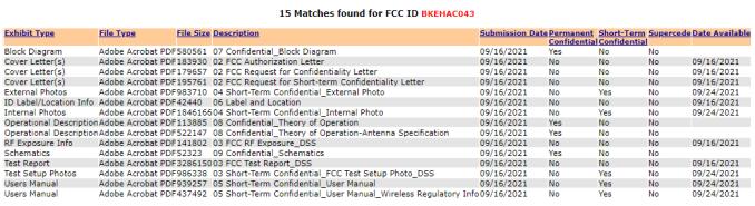Das Bild zeigt eine Liste verfügbarer Dokumente in der Registrierung vom neuen Spielecontroller.