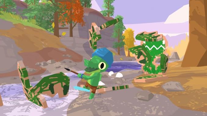 """Das Bild zeigt eine Szene aus """"LiL Gator Game""""."""