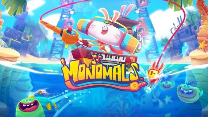"""Das Bild zeig das Logo des Spieles """"Monomals""""."""