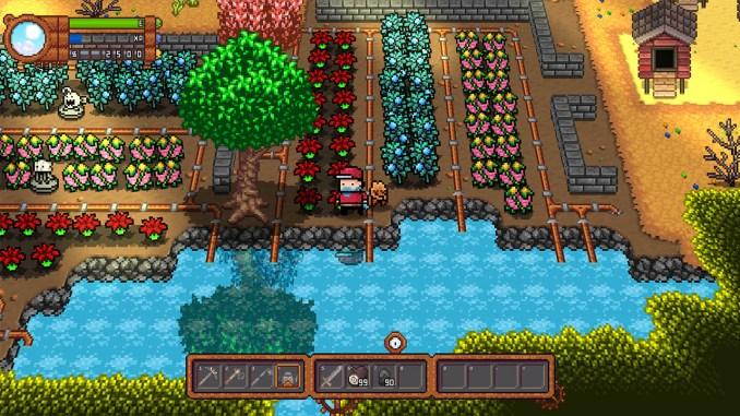 """Das Bild zeigt eine Szene aus dem Spiel """"Monster Harvest""""."""