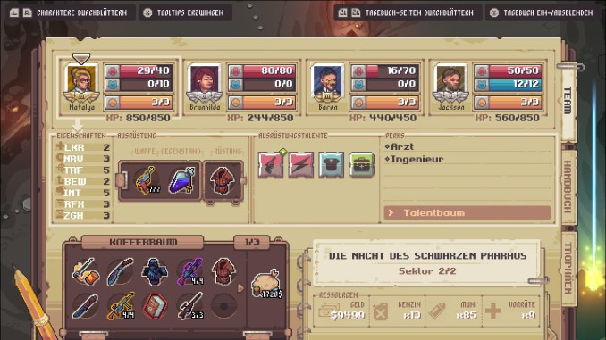 """Das Bild zeigt eine Szene aus dem Spiel """"Pathway""""."""