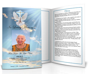 Funeral Program Design Amp Ideas