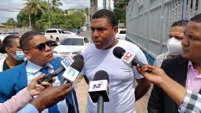 El motorista Rafael Castillo Nova.