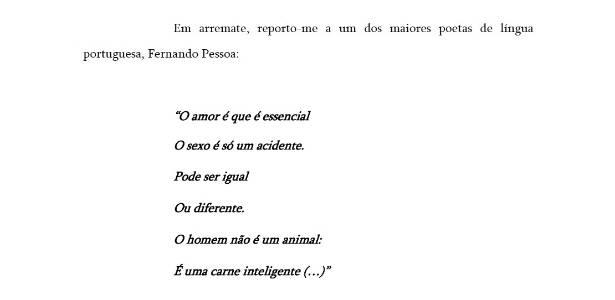 Juiz usa versos do poeta Fernando Pessoa para decisão judicial que garantiu primeira conversão de união estável homoafetiva em casamento em Pernambuco