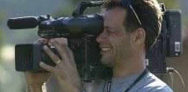Foto do cinegrafista  Gelson Domingos da Silva, 46, morto neste domingo durante uma operação do Bope em uma favela do Rio