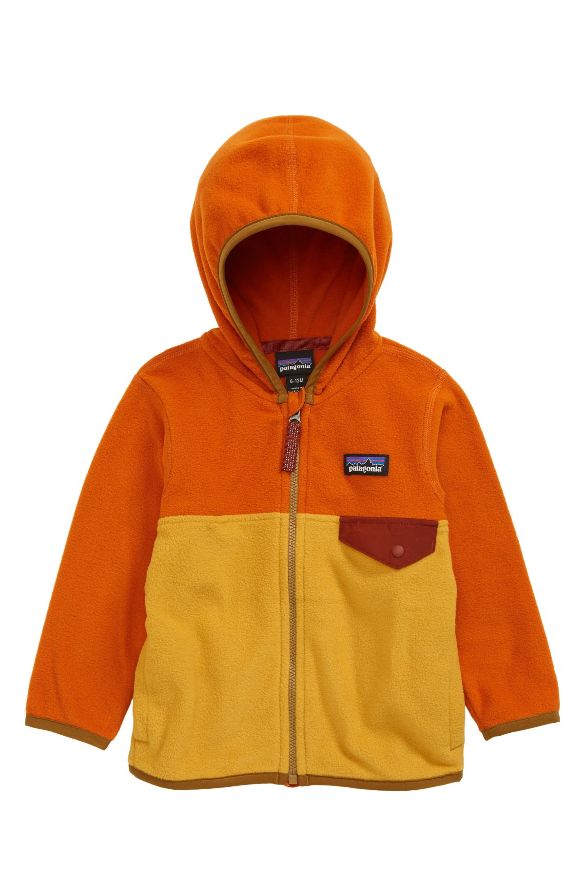 PATAGONIA Micro D<sup>®</sup> Snap-T<sup>®</sup> Fleece Jacket, Main, color, BUCKWHEAT GOLD