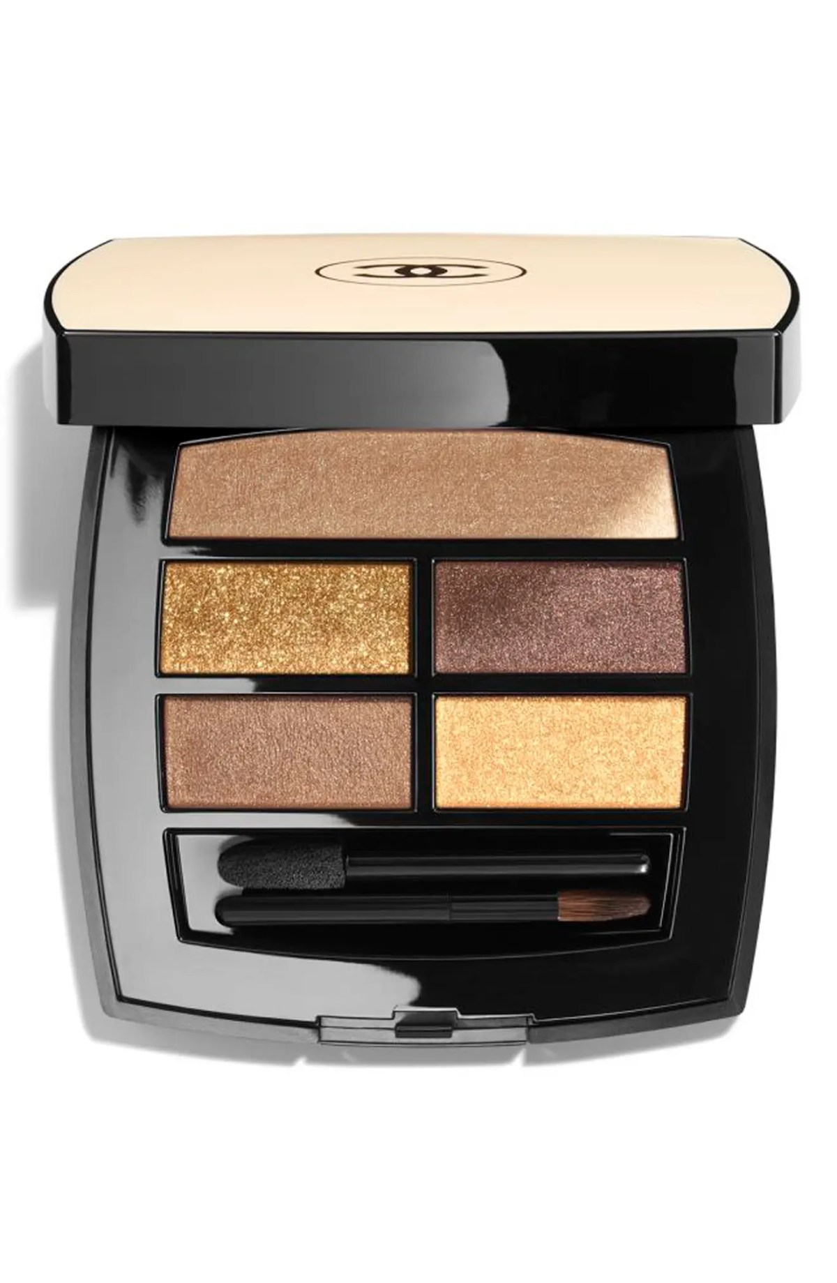 CHANEL LES BEIGES HEALTHY GLOW Natural Eyeshadow Palette, Main, color, DEEP