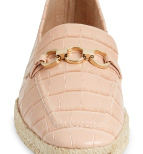 SCHUTZ Patty Loafer, Alternate, color, SWEET ROSE LEATHER