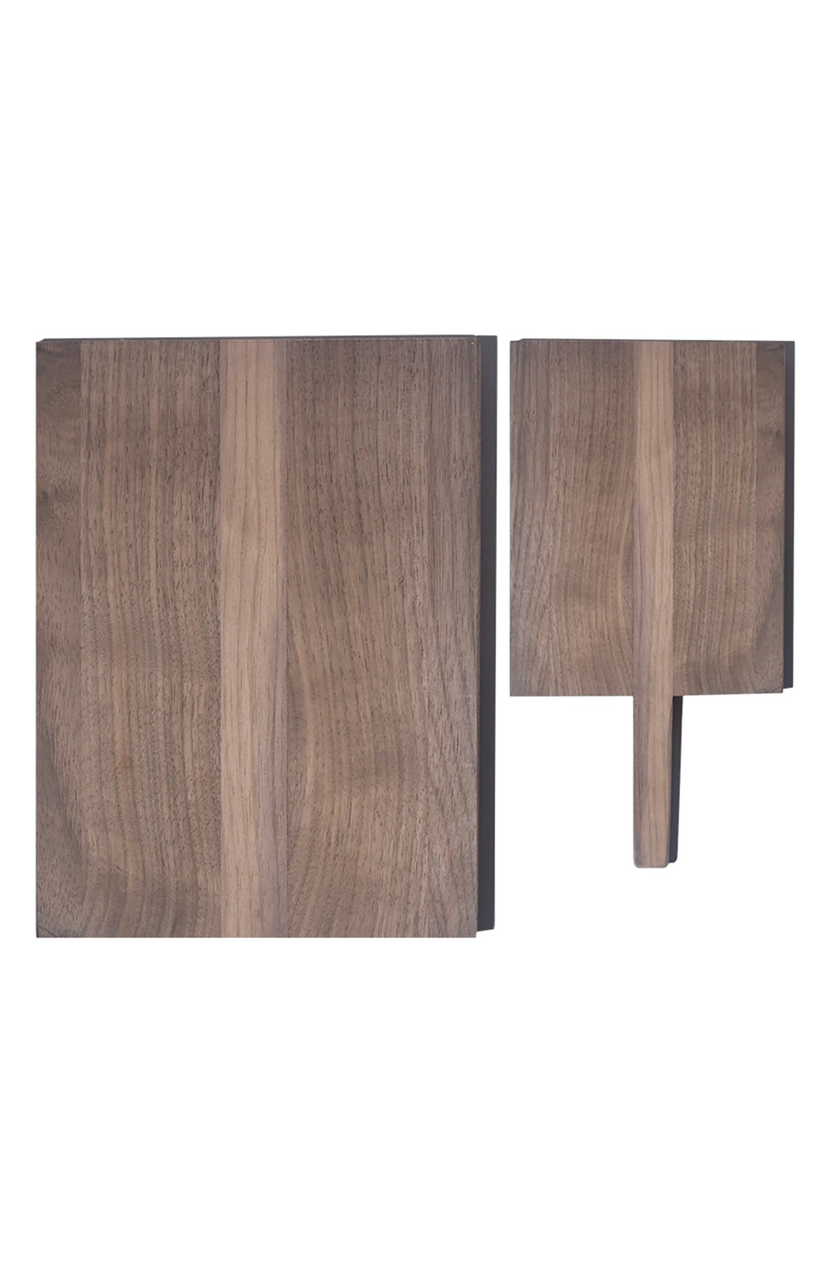 PACKAGE FREE Set of 2 Wood Cutting Boards, Main, color, DARK