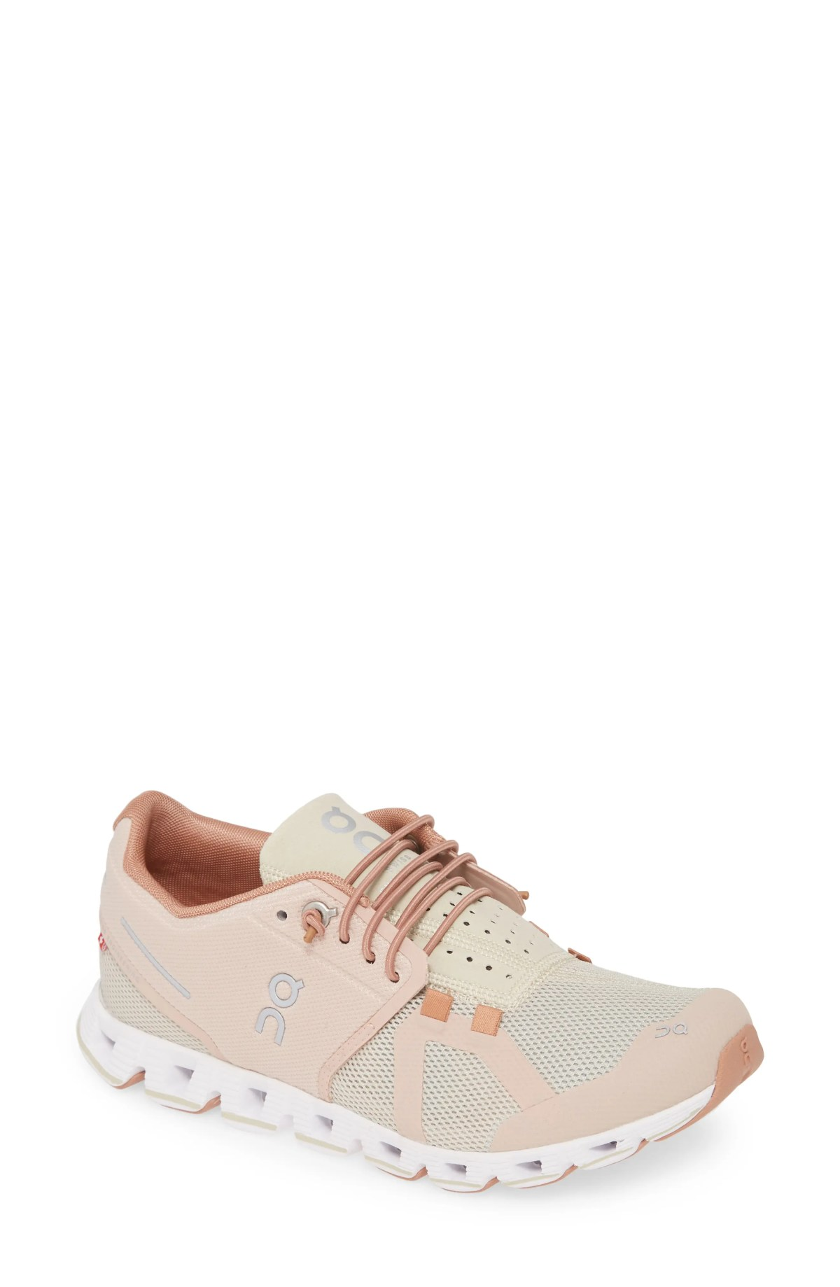 ON Cloud Running Shoe, Main, color, ROSE/ SAND
