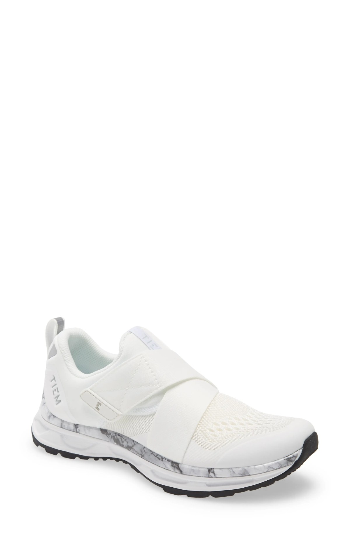 TIEM Slipstream Cycling Sneaker, Main, color, WHITE MARBLE