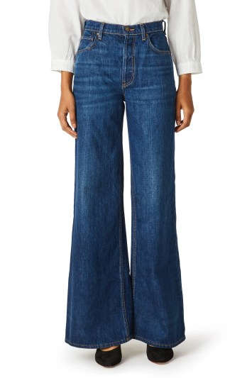 HUDSON JEANS Nora High Waist Wide Leg Jeans, Main, color, PERSUASIVE