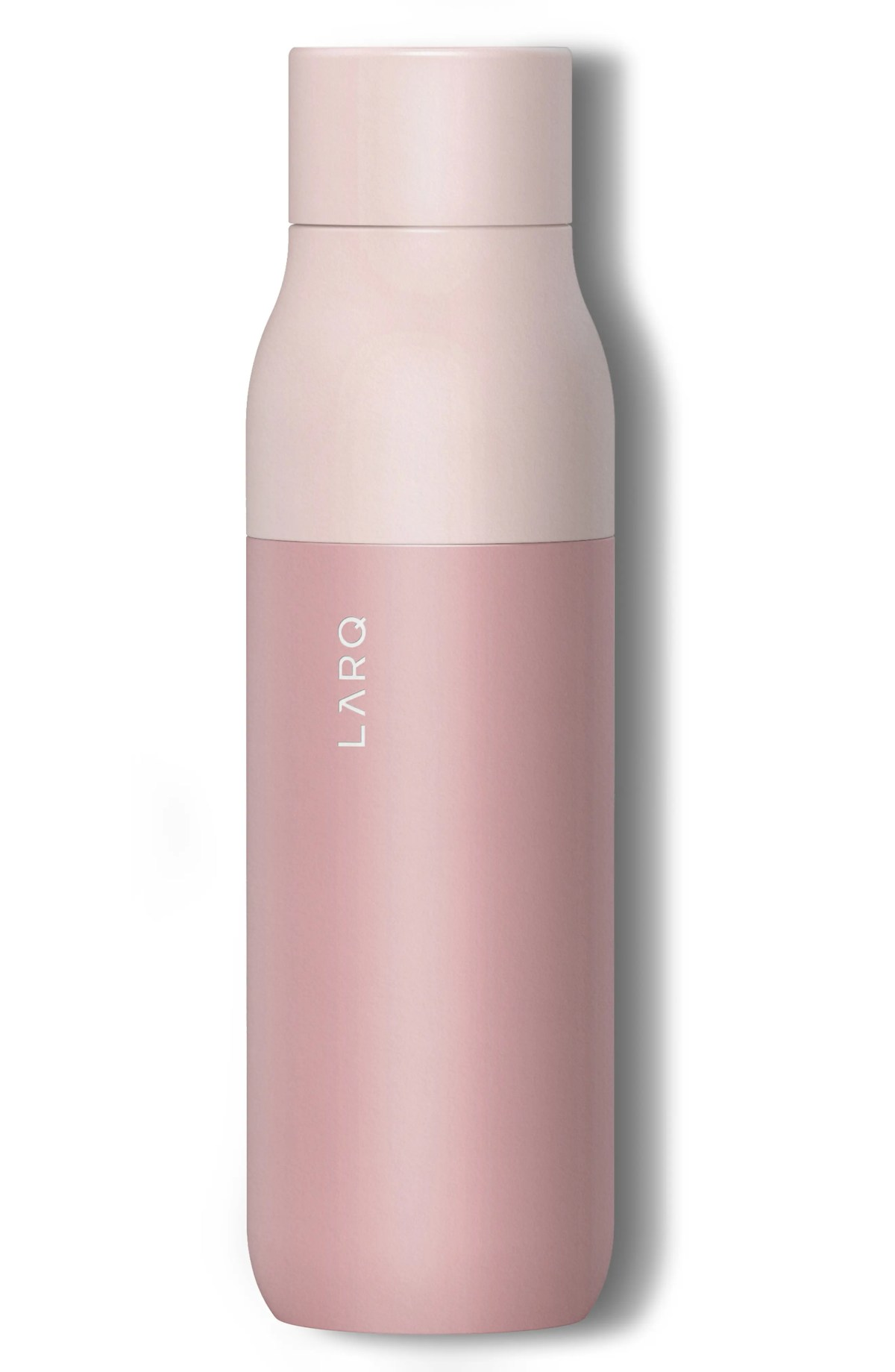 LARQ Self Cleaning Water Bottle, Main, color, HIMALAYAN PINK