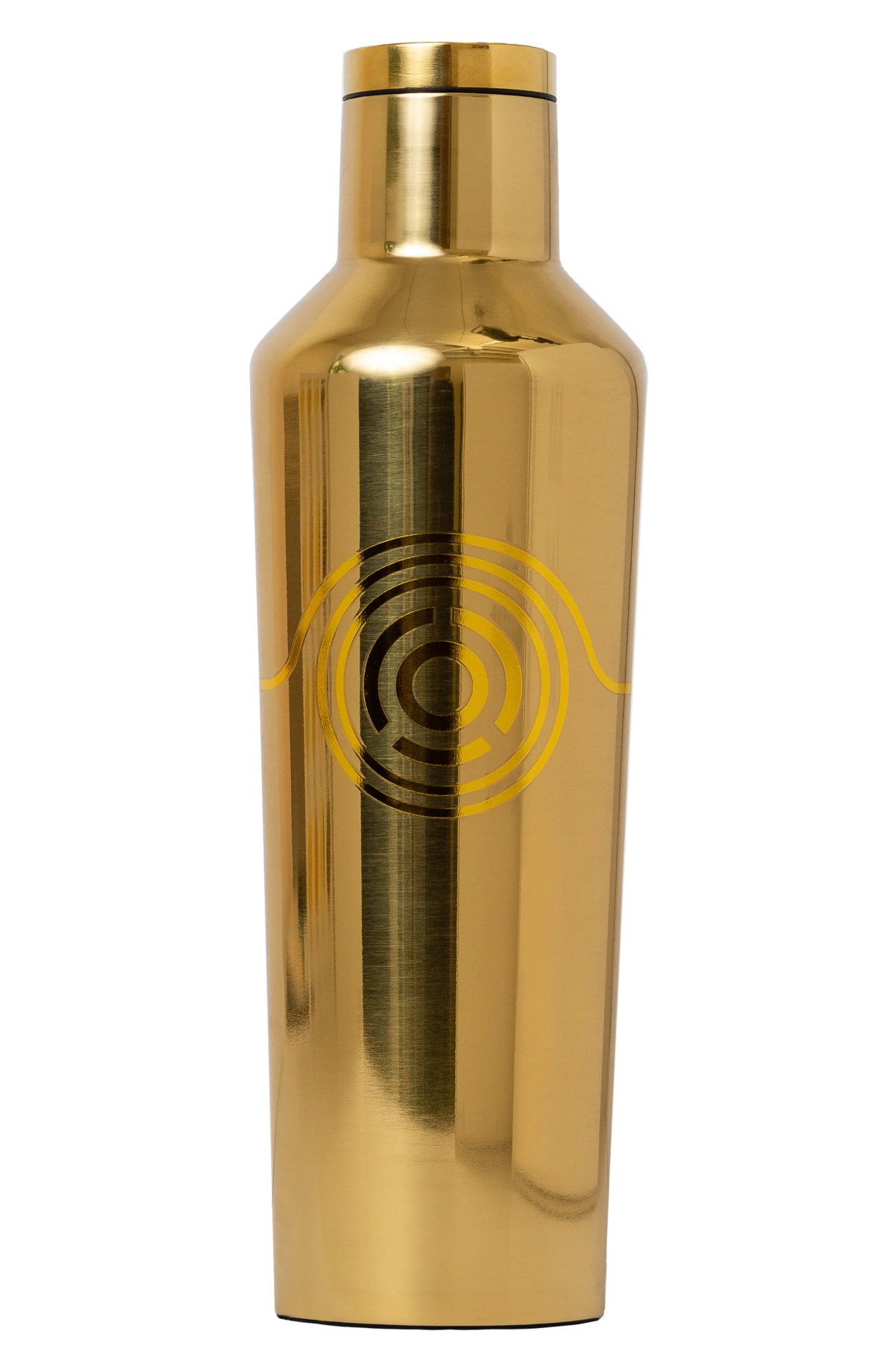 CORKCICLE Star Wars<sup>™</sup> Insulated Stainless Steel Canteen, Main, color, GOLD C-3PO