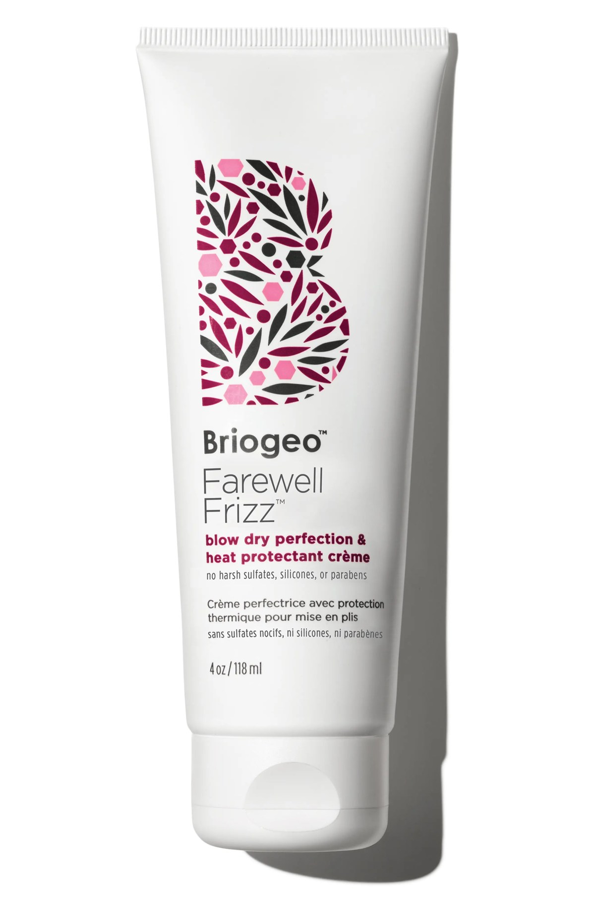 BRIOGEO Farewell Frizz Blow Dry Perfection and Heat Protectant Crème, Main, color, NO COLOR
