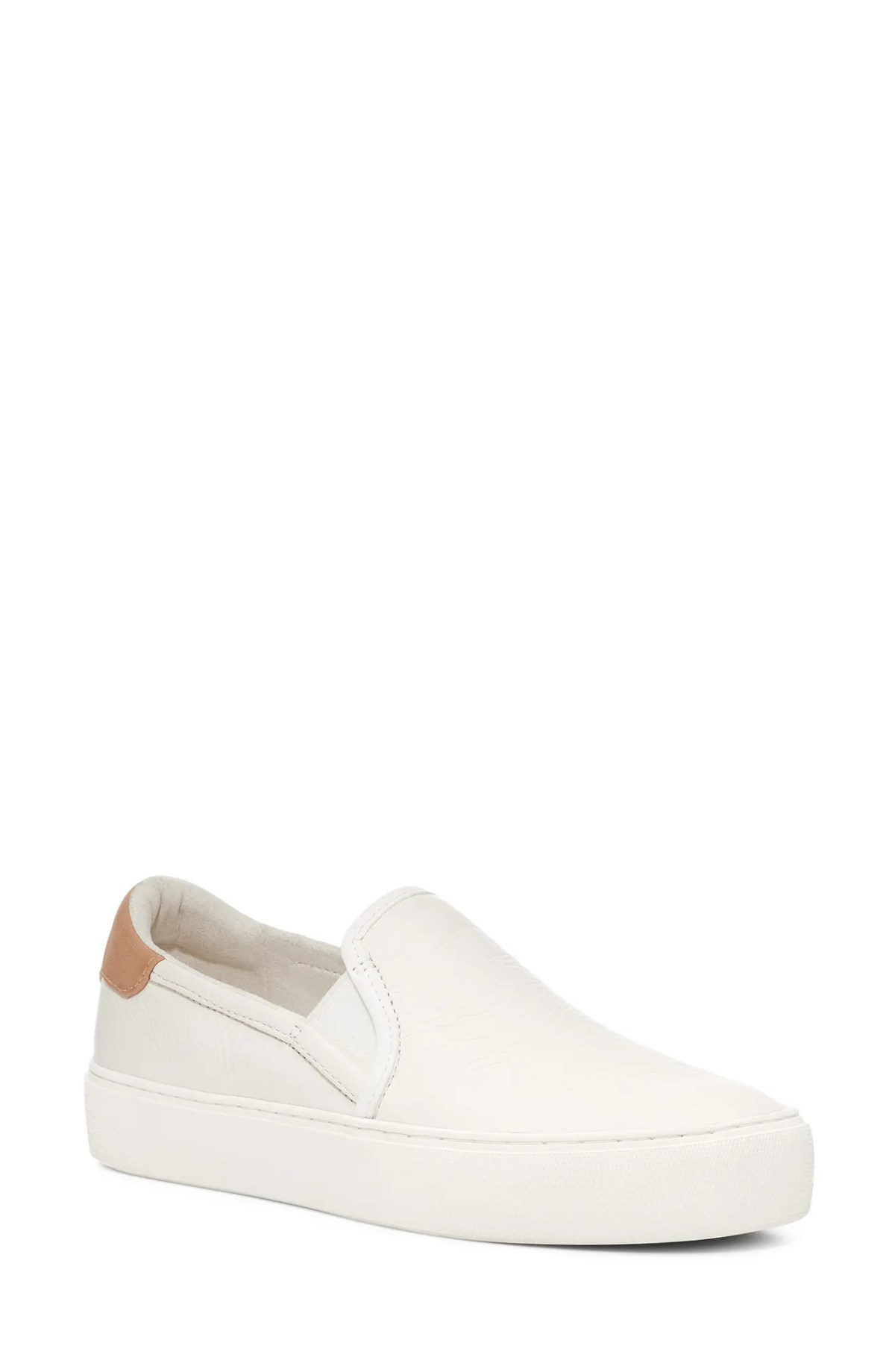 UGG<SUP>®</SUP> Cahlvan Slip-On Sneaker, Main, color, COCONUT MILK LEATHER