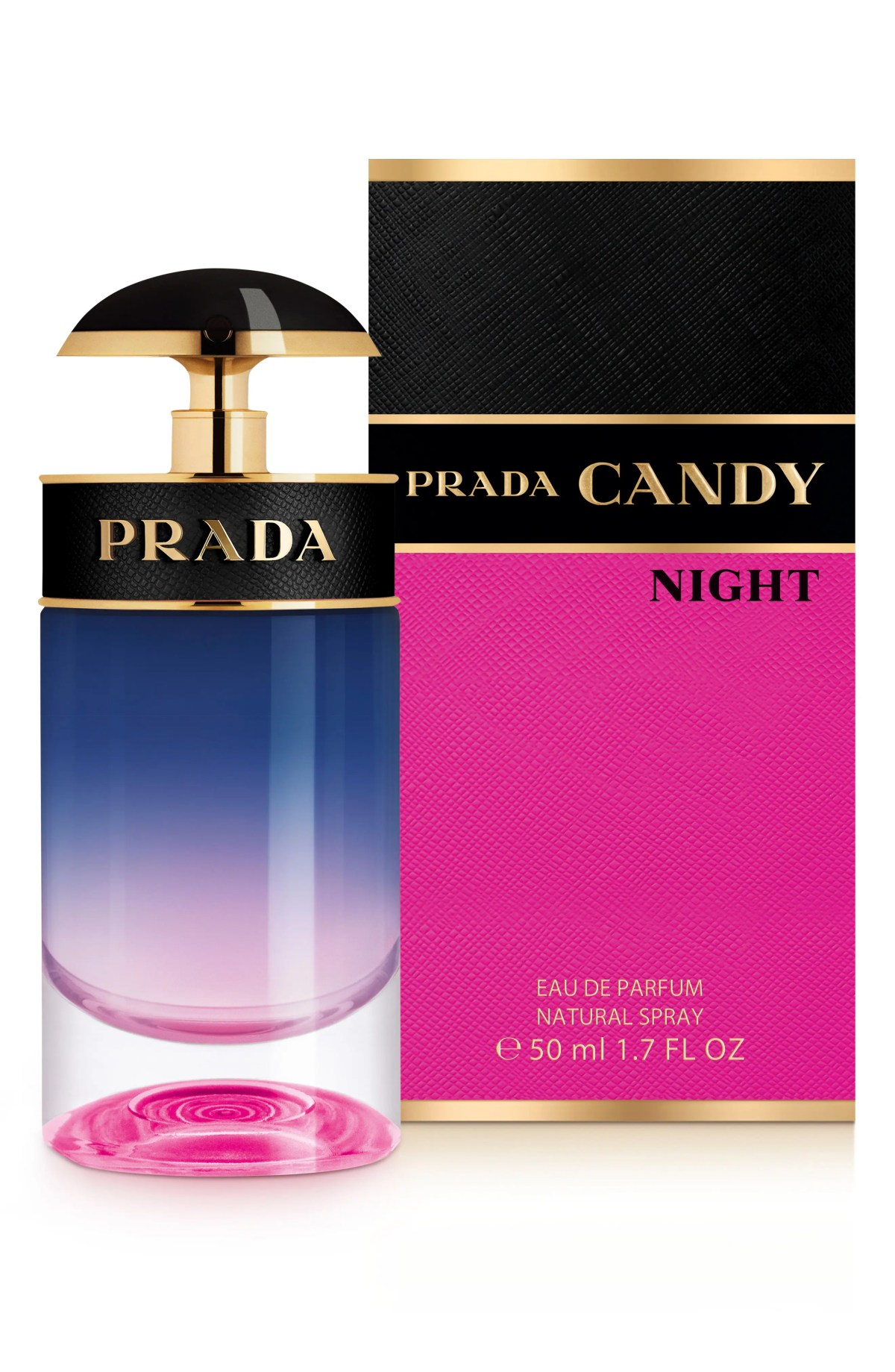 PRADA Candy Night Eau de Parfum, Main, color, No Color