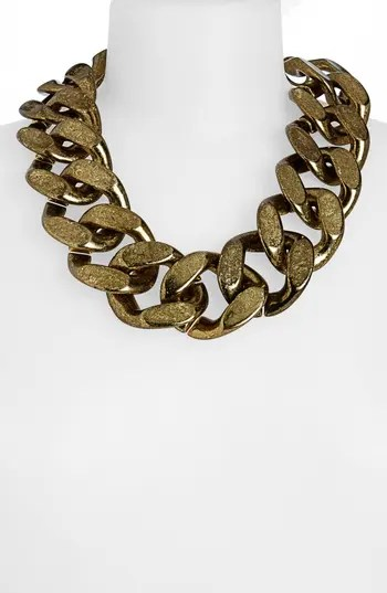 Topshop Large Chunky Chain Necklace Nordstrom