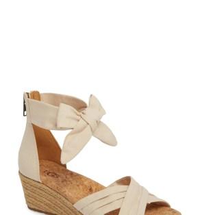 Main Image - UGG® Traci Espadrille Wedge Sandal (Women)