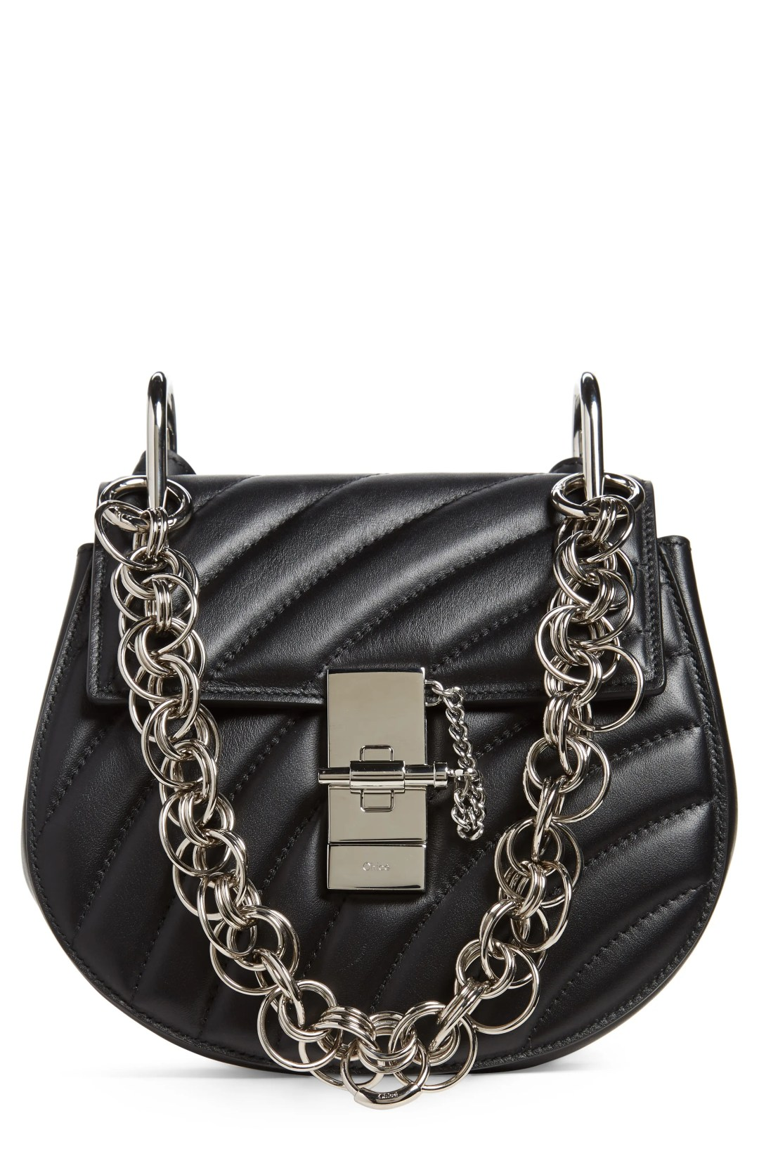Chloé Mini Drew Bijoux Leather Shoulder Bag f1861b3d15965