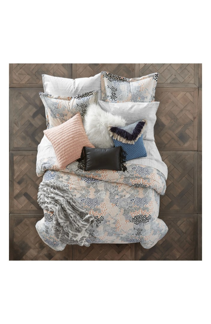 BCBGeneration Pebble Noir Duvet Cover Amp Sham Set Nordstrom