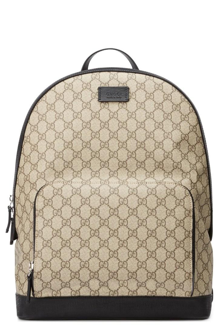 Gucci Eden Canvas Backpack