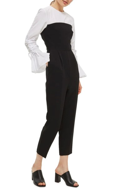 spring office look Topshop 2-in-1 Jumpsuit