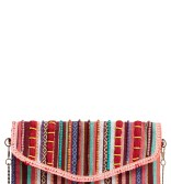 Main Image - Steven by Steve Madden Jaura Beaded Envelope Clutch