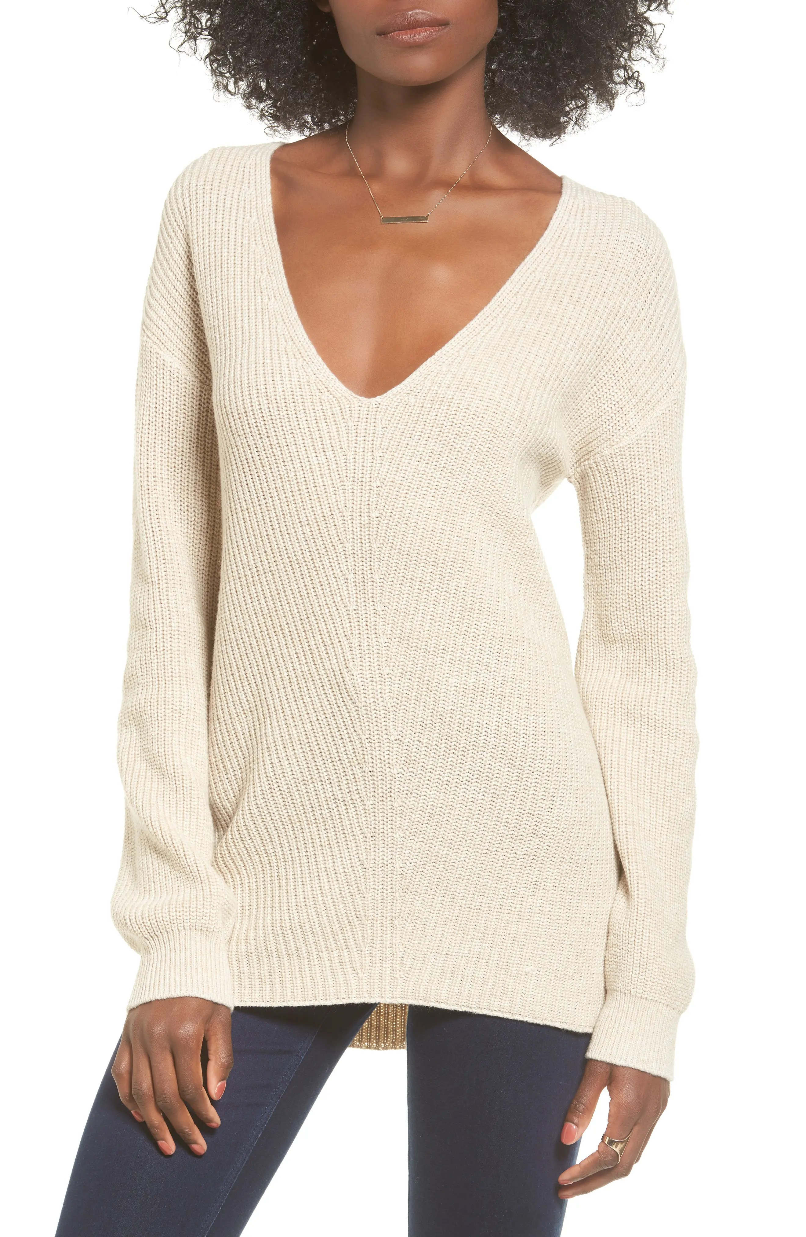 Main Image - BP. V-Neck Sweater