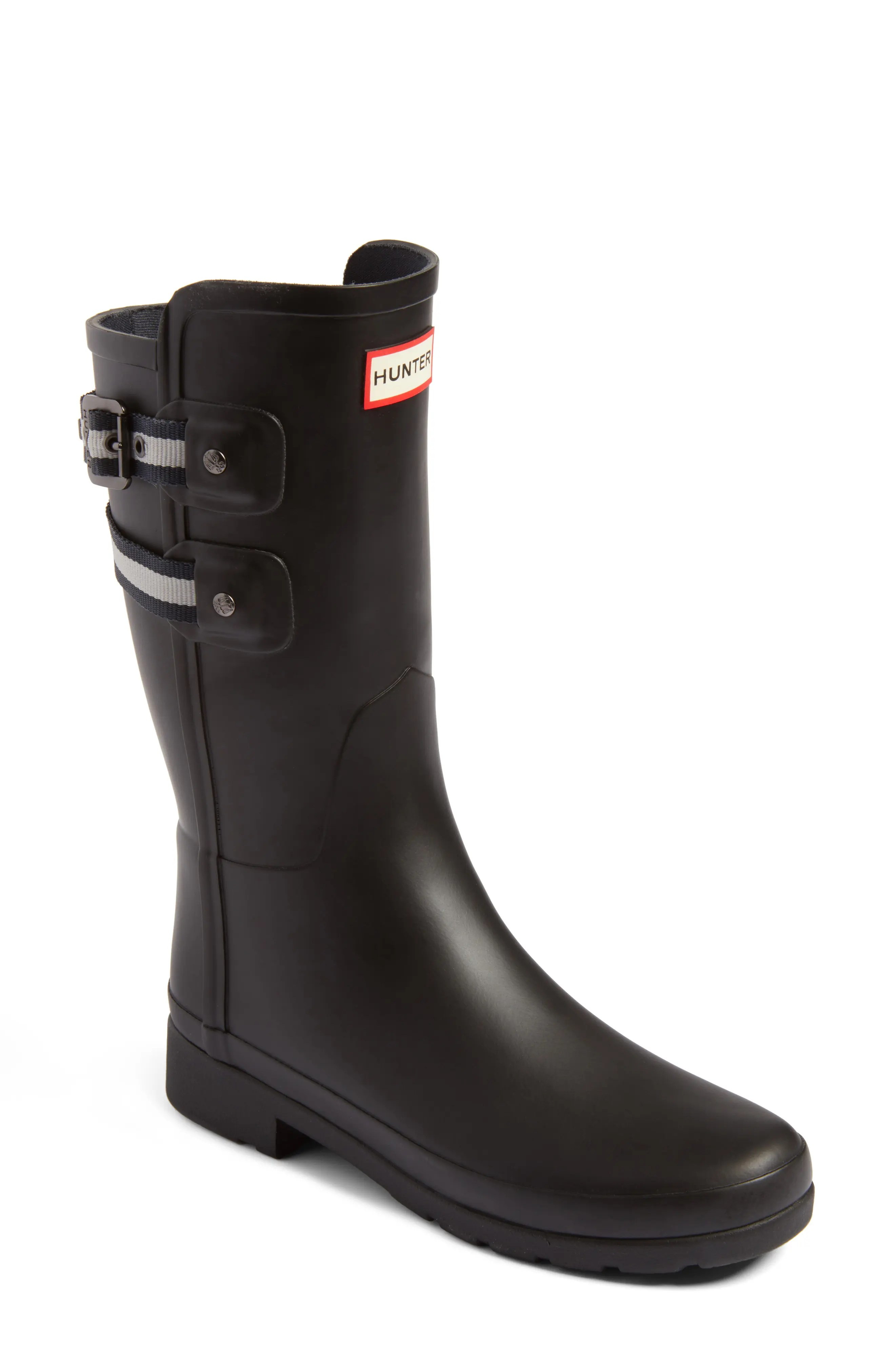Main Image - Hunter Original Refined Short Rain Boot (Women)
