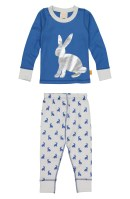 Masalababy Bunny Hop Fitted Two-Piece Pajamas (Toddler Boys, Little Boys & Big Boys)