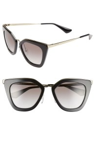 Main Image - Prada 52mm Cat Eye Sunglasses