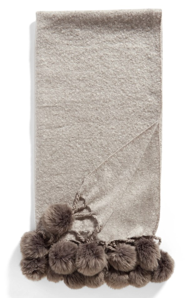 Main Image - Nordstrom at Home Faux Fur Throw