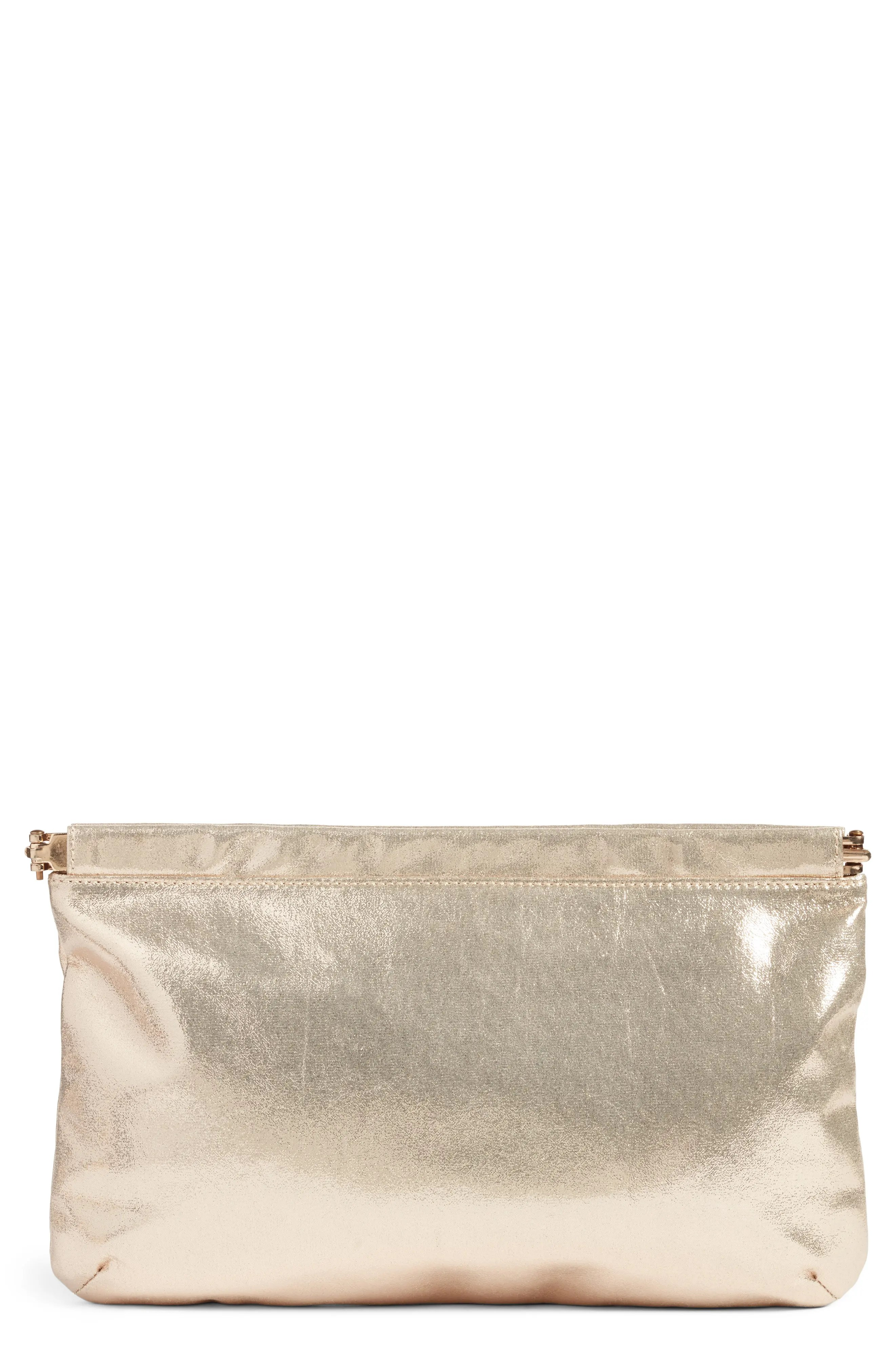 Main Image - BP. Metallic Frame Clutch
