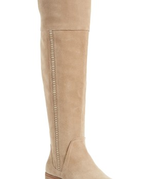 Kochelda Over the Knee Boot,                         Main,                         color, Taupe Notch Suede