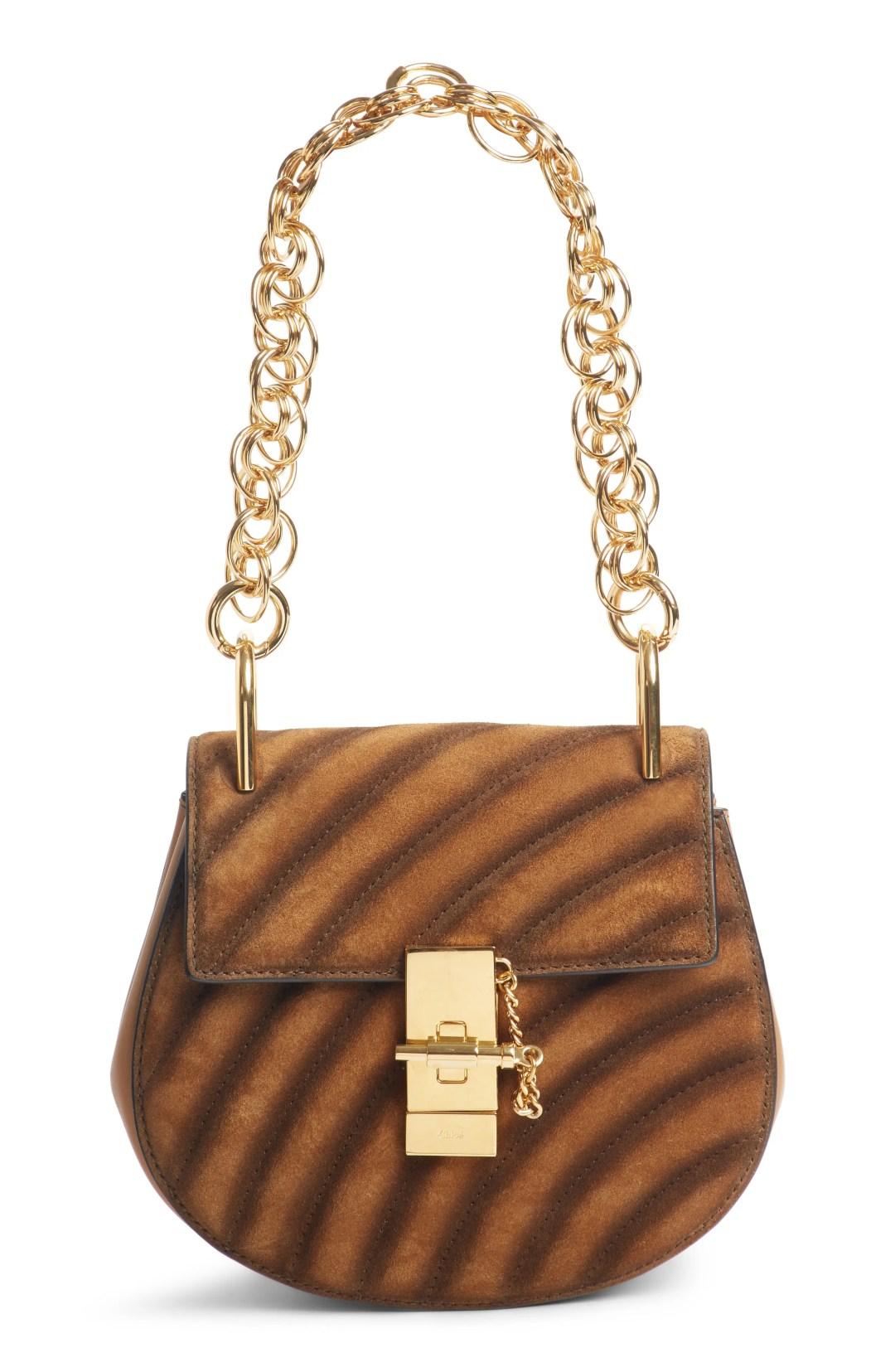 09f9f195acf Chloé Mini Drew Bijoux Leather Shoulder Bag