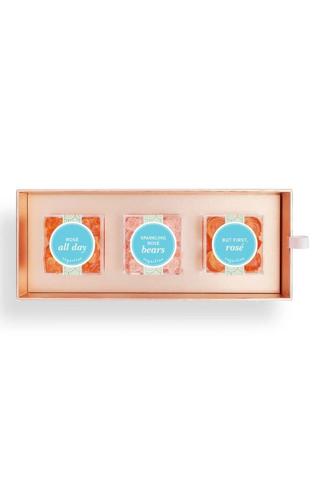 Sugarfina 3 Piece Rose Candy Bento Box